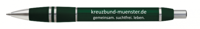 Kreuzbund Kugelschreiber Werbemittel